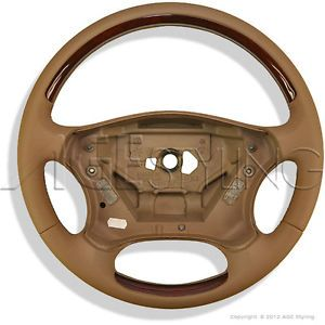 Mercedes Benz C Class W203 S203 Wood Leather Steering Wheel New