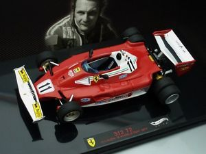 1 43 Hot Wheels Elite Ferrari 312 T2 11 6 Wheels Test 1999 N Lauda
