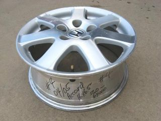 "2004 2005 Honda Accord Factory 16"" Aluminum Alloy Wheel Rim Has Some Scratches"
