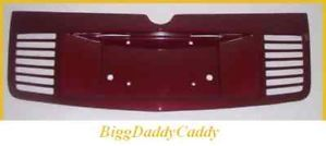 Cadillac cts Rear Light Overlay Louvered Bezel All Factory Colors