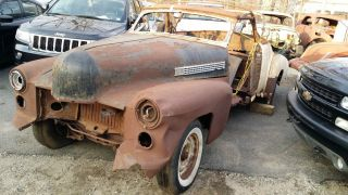1941 Cadillac Convertible Parts Car Hard to Find Barn Find Hot Rod Rat Rod WOW