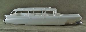 1 25 Scale Model Car Parts Junk Yard 1959 Cadillac Ambulance Hearse