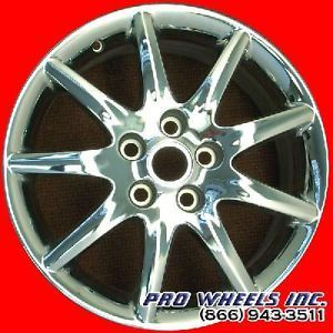 "Buick Lucerne 17x7"" Chrome Factory Original Wheel Rim 4018 44304"