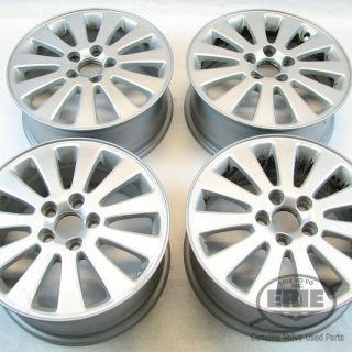 "4 Volvo 16""x6 5 Cygnus Alloy Rims Wheels 30647088 Fits S40 V50 C30 C70"