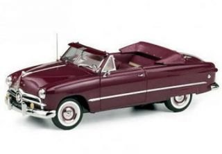 Franklin Mint 1949 Ford Custom Convertible Le Diecast 1 24