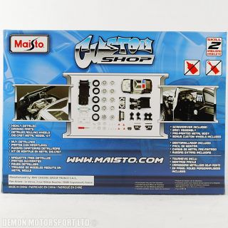 Maisto Hummer HX Police Cop Car 1 24 Diecast Model Car Kit Custom Shop 49 Parts