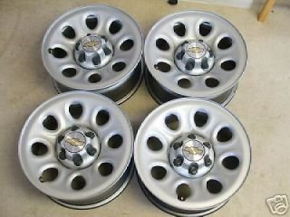 "Chevy Silverado GMC Sierra 17"" Steel Wheels Rims"
