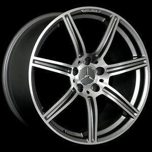 "19"" AMG Style Staggered Wheels 5x112 Rim Fits Mercedes Benz E63 AMG 2007 2009"