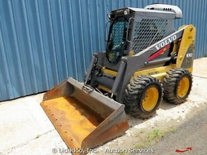2007 Volvo MC90B Skid Steer Wheel Loader Enclosed Cab Heat A C Aux Hyd Skidsteer
