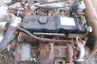 1995 Isuzu NPR 4CYL Turbo Diesel Engine Assembly