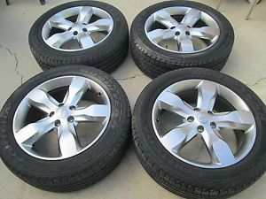 "20"" Jeep Grand Cherokee Overland Wheels Rims Tires Factory Wheels"