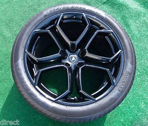 Best Original Genuine Factory Lamborghini Aventador LP700 Black Wheels Tires
