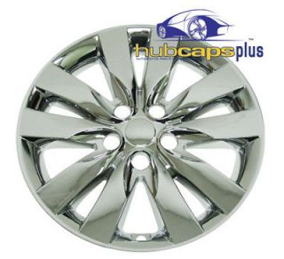 "Fits Kia Forte 17"" Chrome Wheel Skins Hubcaps Covers Hub Cap"