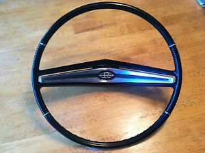 1963 1964 Buick Riviera Steering Wheel Black