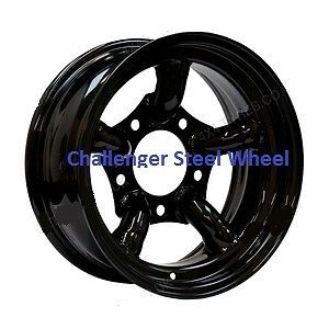 X4 16x7 Black Challenger Steel Wheels Land Rover Fitment 5x165 1 Et 25 Modular
