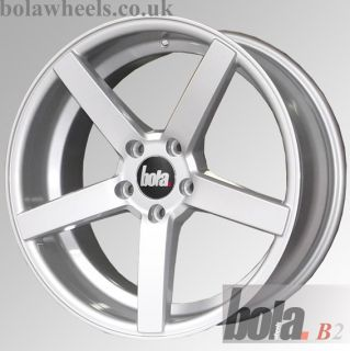 "18"" Acura ZDX 10 12 Technology Bola B2 Silver Alloy Wheels 5x120"