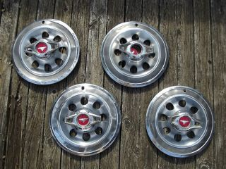 65 Buick Special Skylark Vintage Spinner Flipper Hubcaps Wheel Covers 4 Set