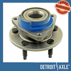 1 New Buick Chevrolet Pontiac Front Wheel Hub Assembly Non ABS FWD 5 Lugs