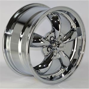 "16x7"" Chrome 5 Spoke Wheels Rims 5x115 mm Lug Pattern for Chevy Monte Carlo 2001"