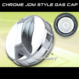 Chevy GMC Hummer Pontiac Volvo Chrome Fuel Gas Tank Cap
