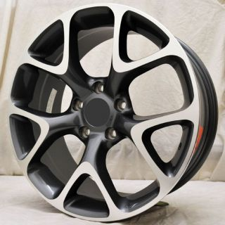 "18"" Opel Astra Vauxhall Astra New Model Gunmetal Polished Alloy Wheels 5x105"