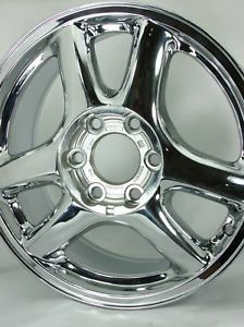 Chrome GMC Envoy Wheels Rims 5136 09593391