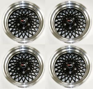 Buick Grand National GNX Factory Style Black Wheel Set