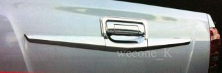 Chrome Tail Gate Tailgate Accent V 2 Isuzu Dmax D Max 2012 Pickup Pick Up