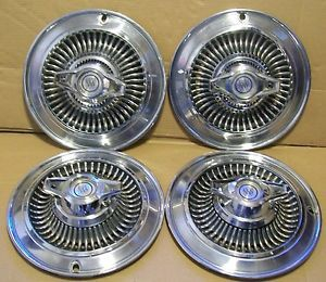 Hubcaps Wheel Covers Buick Special Skylark 1964 64 14""