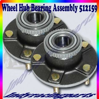 2 Pcs 1999 2002 Daewoo Leganza Rear Wheel Hub Bearing Assembly ABS Only