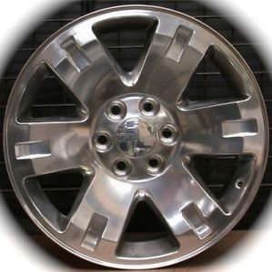 "New GMC Sierra Yukon XL Polished 20"" Wheels Rims Chevy Silverado Tahoe Suburban"