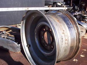 Chromed Deep Dish Steel Wheel Vintage GM GMC Chevy Toyota Isuzu Truck 15x8 6 Lug