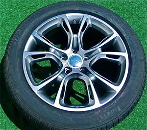 RARE Genuine Jeep Grand Cherokee SRT8 Hypersilver 20 Wheels Tires TPMS SRT 8