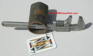 Details about ★ WWII JEEP MB/GPW TOOL KIT TOOLS ★ 11 ADJUSTABLE