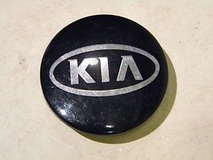 Kia Rondo Soul Wheel Center Cap Black Chrome 52960 2K0C0 Emblem Badge 4