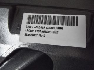 New Genuine Land Rover Freelander 2 Front Right Lower Door Cladding LR002468