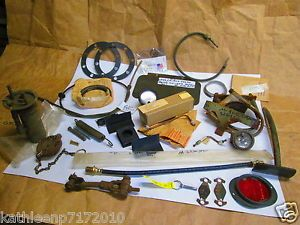 Military Jeep Trailer Willys CJ M151 M416 WC M38 A1 M1009 M35 M29 Parts Lot
