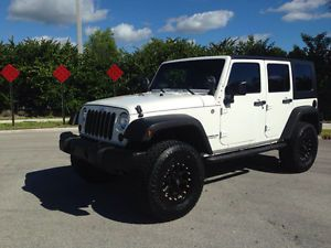 2010 Jeep Wrangler Unlimited 4x4 Islander w Lift Rims Tires