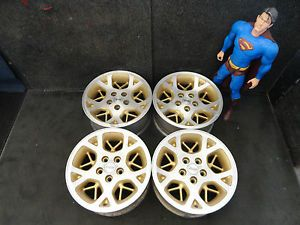 "16"" Jeep Grand Cherokee Wheels 96 97 98 Factory Stock Alloy Rims 9015 Set"