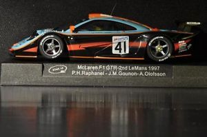 Slot It CA10D McLaren F1 GTR LM '97 Custom Wheels Collector Grade New Mint Boxed