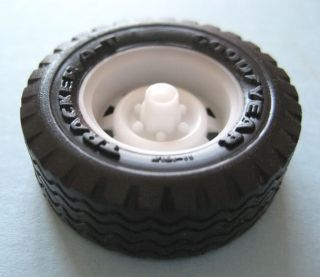 Resin 1 24 Scale Chevy Truck Rally Wheels Six Lug 4WD