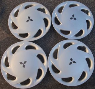 "13"" 1994 95 96 Mitsubishi Mirage Hubcaps Wheel Covers"