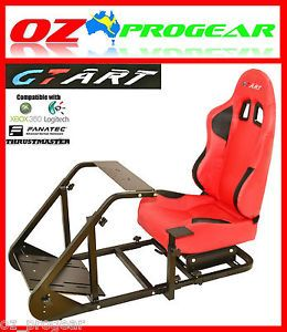 GT Art Racing Simulator Steering Wheel Stand for Logitech G25 G27 PS3 Xbox360