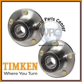 TIMKEN 2 Rear Wheel Bearing Hub Assembly Without ABS Eagle Mitsubishi Plymouth