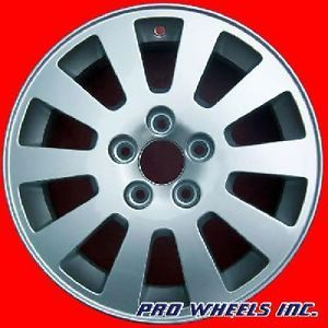 "Saab 9 5 16x6 5"" Silver Factory Original Wheel Rim 68217"