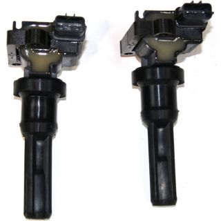 Pair Ignition Coil Pack Set of 2 New Mitsubishi Lancer 2006 2005 2004 2003