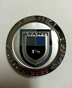 Asanti Forged Luxury Wheels Chrome Centercap LG0607 25 Center Cap asanti FS Cap