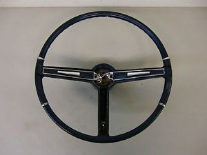1967 1968 Pontiac Firebird GTO Deluxe Steering Wheel and Horn Side Only Trim