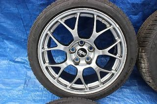 "2008 Mitsubishi Lancer Evolution x Mr BBs 18"" Wheels Contential Tires Evox"