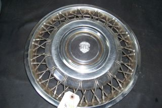 "'85 Early 86 1985 1986 Oldsmobile 98 14"" Wire Hubcap Wheel Cover 4098A"